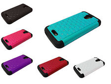 Bling Hybrid Phone Case For Alcatel onetouch Pop Astro 5042T Pixi Charm A450T