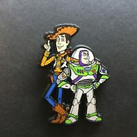 Plastic Woody and Buzz Pin Toy Story Very RARE Disney Pin 13237