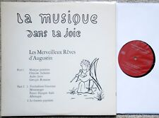 - LA MUSIQUE DANS LA JOIE by BOVET - RARE PRIVATE SWISS LP