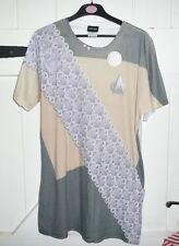 Star Trek Worf Klingon Uniform Sublimation Allover Front LARGE T-shirt BNWOT