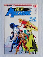 Justice League No. 7 July 1987 Comico The Comic Company First Printing NM (9.4)