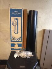 """Chimney Stove Pipe Deflector Black 3Ft  Fits 6""""  7"""" and 8"""""""