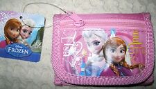 Disney Frozen Anna and Elsa Light Pink Wallet Purse Carrying Case-New with Tags!