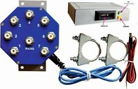 MS-S7A-WEBcontrolled REMOTE ANTENNA SWITCH, 7 POSITIONS, 2 KW PEP, Ready for use