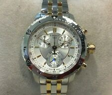 New Tissot PRS 200 Chronograph Stainless Steel Two Tone Watch T0674172203100