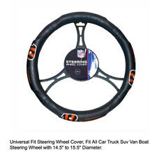Northwest NFL Cincinnati Bengals Car Truck Suv Van Boat Steering Wheel Cover