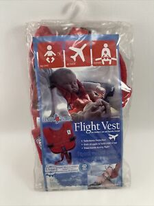 INFANT Baby B'Air AIRLINE FLIGHT VEST Airplane SAFETY BAir Seat Belt FAA Harness