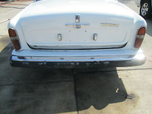 Rolls Royce Silver Shadow II 1980 - Rear Bumper