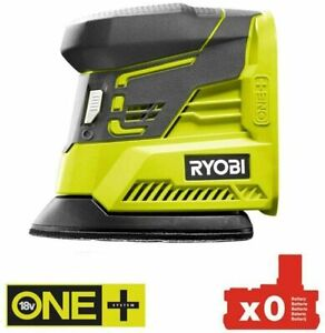 Ryobi ONE+ 18V Cordless Palm Sander R18PS-0.Bare Tool. No Battery. Body Only