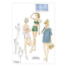 Vogue Vintage Female Sewing Patterns