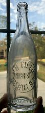 J.H. Field High Street New Hampshire Nh Beer Soda Bottle Pre Prohibition