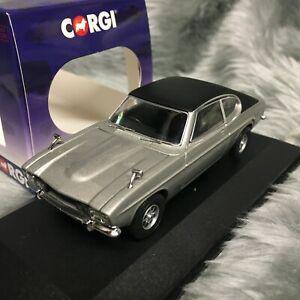 NEW Vanguards 1:43 Ford Capri Mk1 3000E Silver Fox VA13313