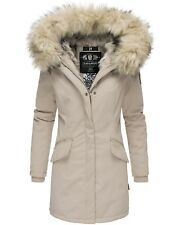 Navahoo Premium Luxus Parka Mantel Winter Jacke Damen Mega Kunstfell NEU Cristal