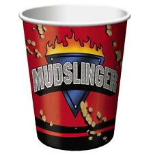 Mudslinger Monster Truck Rally Racing Kids Birthday Party 9 oz. Paper Cups