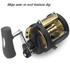 Shimano TLD 50 2 Speed Saltwater Fishing Reel 4BB 440/80LB Mono  TLD50IILRSA