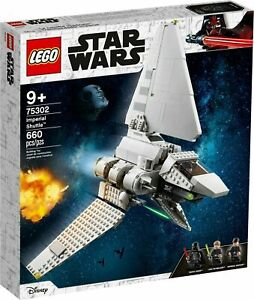 Brand New & Sealed LEGO Star Wars Imperial Shuttle 75302 SHIPPING 01/03/21