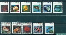 FAUNE MARINE - MARINE LIFE PALAU 1983/1984 Common Stamps