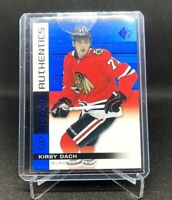 KIRBY DACH 2019-20 19/20 UD SP ROOKIE AUTHENTICS #107 SP BLUE RC