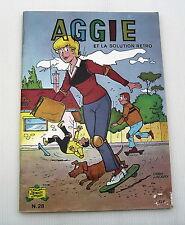 AGGIE . AGGIE ET LA SOLUTION RETRO . 28 . BD souple