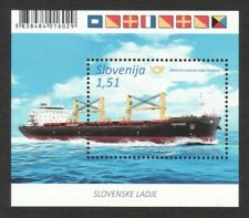 SLOVENIA 2019 SHIP (FLAGS) SOUVENIR  SHEET OF 1 STAMP MINT MNH UNUSED CONDITION