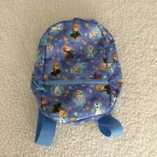 Frozen 2 Purple Characters Toddler Backpack New