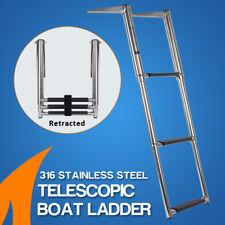 3 Step Telescoping Boat Ladder Telescopic Stainless Steel Swim Step Strong