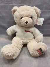 "CANON Plush 16"" Stuffed Bear Toy Missing Exploited Children"