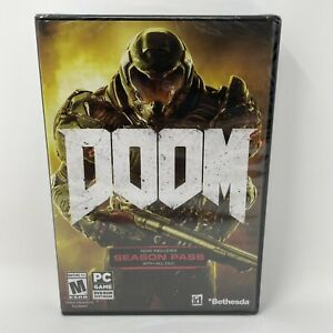 Doom PC Game DVD-ROM Software New Includes Demon Multiplayer Pack
