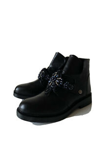 Emi Romani Women high quality exclusive leather boots US 7.5(24,5 cm)