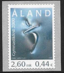 Aland 2000 Sport, Finno, Swedish Gymnastics Exhibition, MNH/UNM