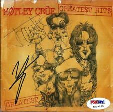 Vince Neil & Tommy Lee MOTLEY CRUE Signed Greatest Hits CD Album PSA/DNA COA