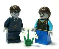 LEGO Zombie Bride & Groom Minifigure Monster Halloween Wedding