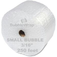 "Bubble Wrap 250 ft  x 12"" Small Sealed Air 3/16 Best"