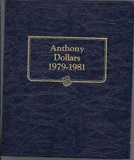 Anthony Dollars 1979-1981 Whitman Album # 9149