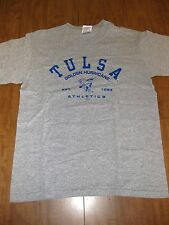 UNIVERSITY OF TULSA youth lrg T shirt TU Golden Hurricane tee Oklahoma 1894