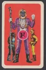 Swap Playing Cards 1 Japanese 60's Space Ape Man 'TV Series' 3/4 Size A30
