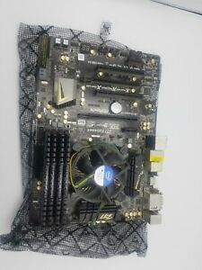 Intel Core i7 quad core 3.5GHZ, Asrock Z77 Extreme motherboard, and 16GB Ram