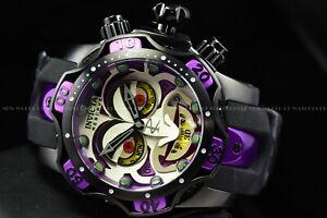 Invicta 53mm Reserve Venom DC Comics Joker Lim Ed Swiss Chrono Silicone Watch