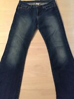 Lucky Brand Women's Jeans Sweet N Low Distressed Boot Cut Size 10 Or 30 X 31