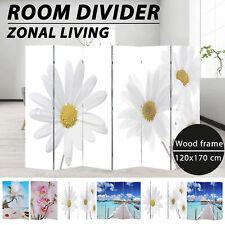 vidaXL Folding Room Divider Privacy Screen Solid Wood Multi Models Multi Sizes