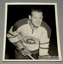 QSHL 1954-55 Quebec Aces James Uniac Photo