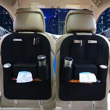 Car Seat Back Tidy Organiser Multi Pocket Travel Hanging Storage Holder Bag U7B7