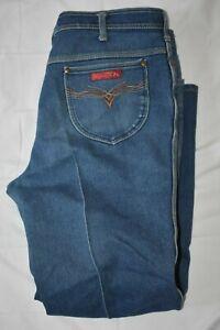 Vintage Braxton Women's Medium Wash Denim Stretch Jeans Plus Size 38L