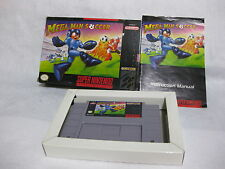Mega Man Soccer Super NIntendo Entertainment System SNES CIB