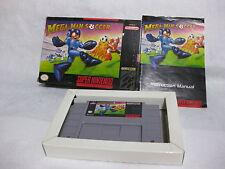 Mega Man Soccer Super NIntendo Entertainment System SNES CIB