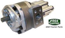 Main Tandem Hydraulic pump John Deere 300D 310C 310D 315C 315D Loader Backhoe