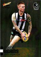 ✺New✺ 2020 COLLINGWOOD MAGPIES AFL Card DAYNE BEAMS Footy Stars Prestige