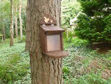 Wooden Eco friendly  Squirrel Feeder by Homes for  woodland folk