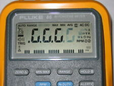 Fluke 88 86 Mac Tools Et 88 Md 88 Repair Kit Faded Lcd Display Digits