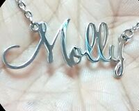 Hypoallergenic Name Necklace - Pendant - made from Stainless Steel (316)